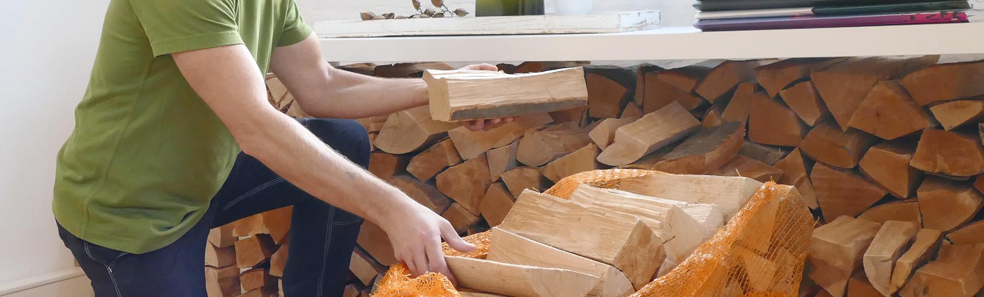 Heimisches Holz für Wohlfühlwärme!